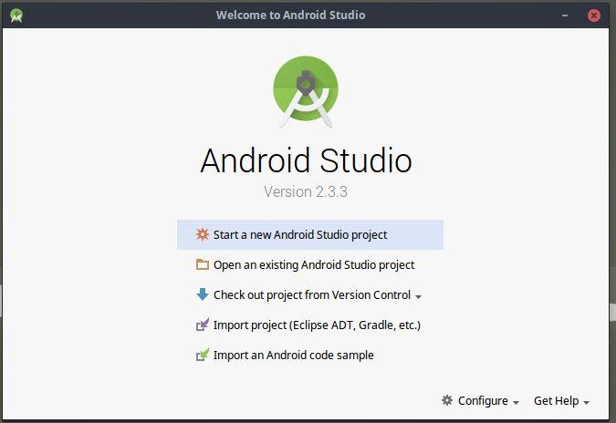 Android Studio tutorial imagen 1